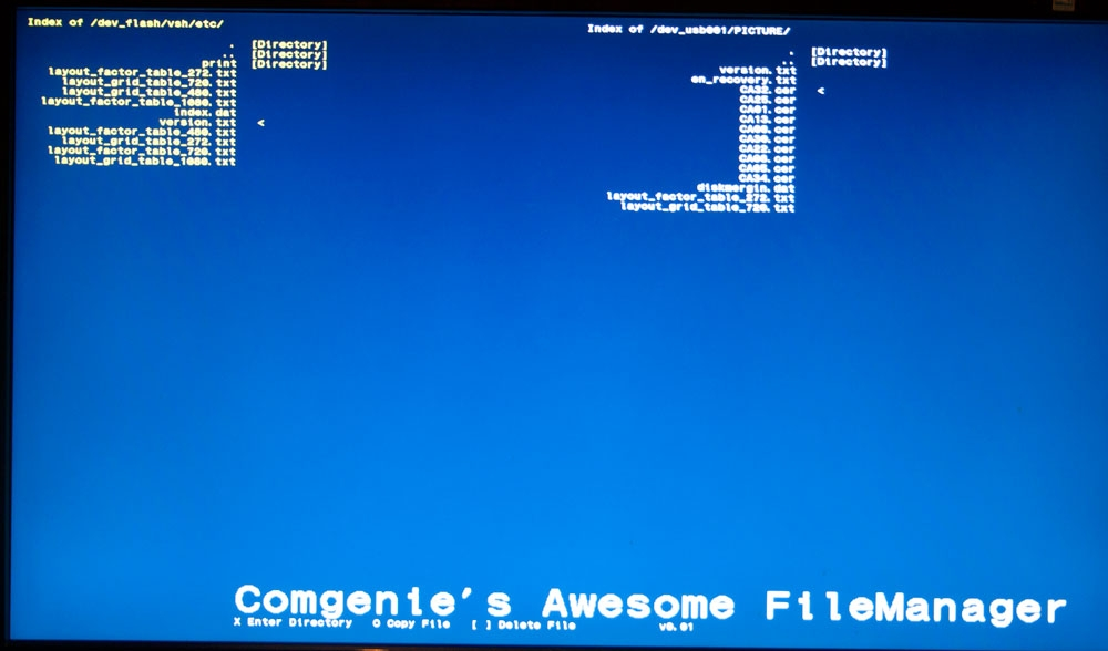 Comgenie's Awesome Filemanager