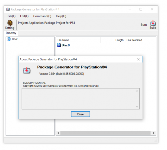 how to create a pkg file