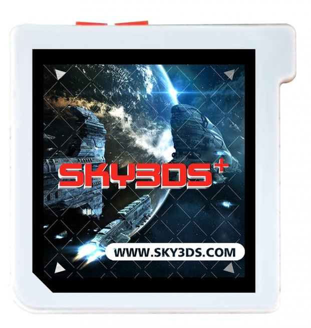 Sky3DS V3 bouton orange lsstore flashconsoles lyon