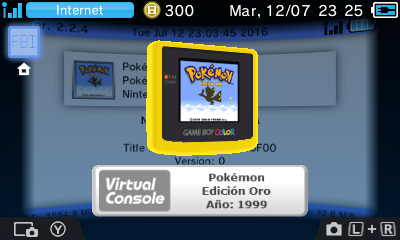 Ultimate GBC VC Injector for 3DS v1 7 disponible